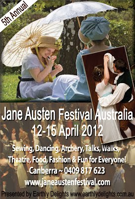 Jane Austen Festival Australia 2012 Poster