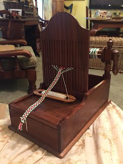 Aylwen's reproduction 18C tape loom